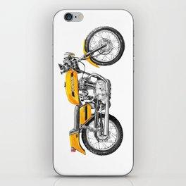 Vintage Motorcycle iPhone Skin