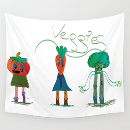 veggies Wall Tapestry