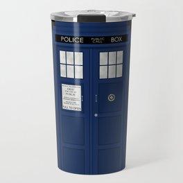 Doctor Who's Tardis Travel Mug