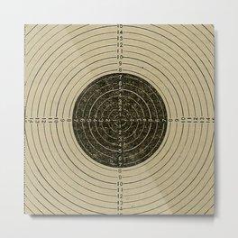 Target Metal Print