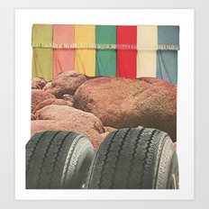 Texture Series: Number Two Art Print