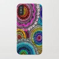 mandala iPhone & iPod Cases featuring mandala by goyye