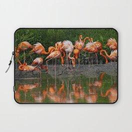 Flamingo Reflection Laptop Sleeve