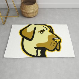 Anatolian Shepherd Dog Mascot Rug
