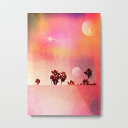 Days of Candy Metal Print