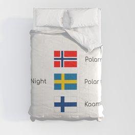 Polar nights Comforters