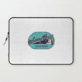 Whistling Beaver Lager Beer Laptop Sleeve