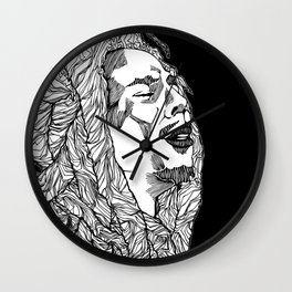 Get up, Stand Up Wall Clock