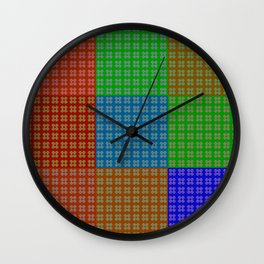 Endless pattern with change Wall Clock