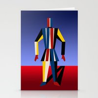 soldier Stationery Cards featuring TIN SOLDIER by THE USUAL DESIGNERS