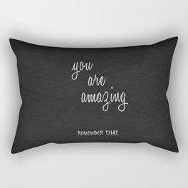 You Are Amazing Rectangular Pillow