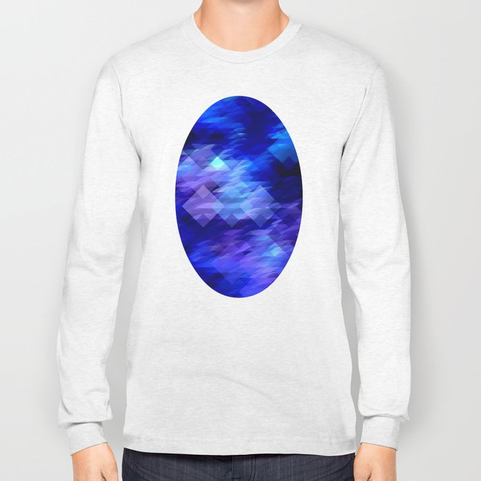 Anemone Wave Pixel Long Sleeve T-shirt