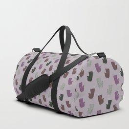 Seventies Armchair Pattern - Version 5 #society6 #seventies Duffle Bag