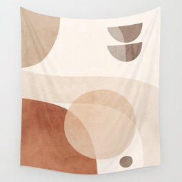 Abstract Minimal Shapes 16 Wall Tapestry