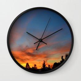 Morning Shadows Wall Clock