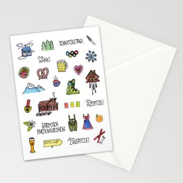 Garmisch Partenkirchen Stationery Cards