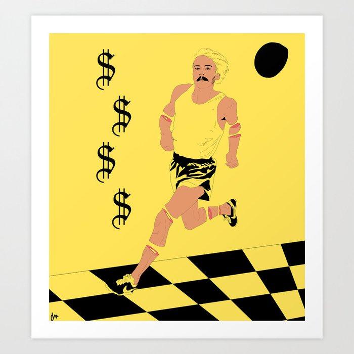 Run 4 Ya Money Art Print