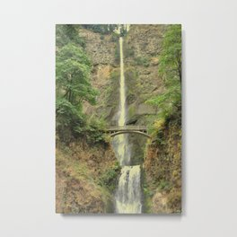 MULTNOMAH FALLS - OREGON Metal Print