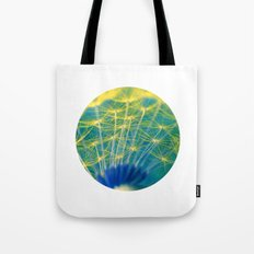 dandelion abstract Tote Bag