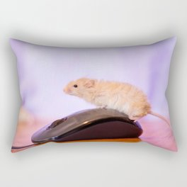 Mouse on a Mouse Rectangular Pillow