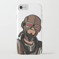 borderlands iPhone & iPod Cases featuring borderlands mordecai by  Steve Wade ( Swade)
