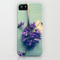 Sweet Violets Slim Case iPhone (5, 5s)