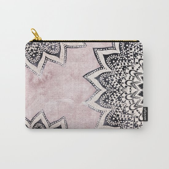 ROSE BOHO NIGHTS MANDALAS Carry-All Pouch