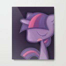 Twilight Sparkle Metal Print