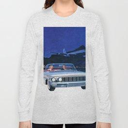 Chilling Retro Couple Long Sleeve T-shirt