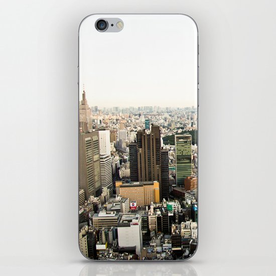 Tokyo view iPhone & iPod Skin