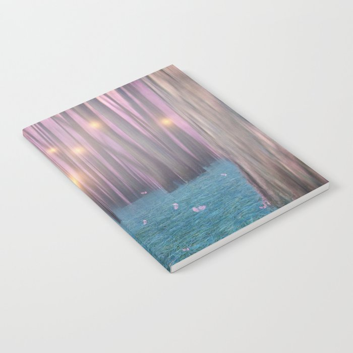 Pink feather dance Notebook