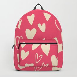 Valentines Cute Hearts Pink #Valentines Backpack