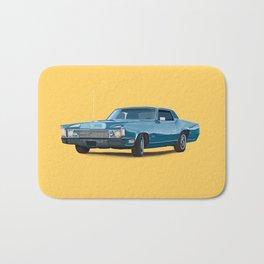 Vintage car solid colour Bath Mat