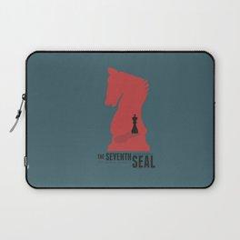 The Seventh Seal, Ingmar Bergman movie poster, swedish film, Max von Sydow Laptop Sleeve