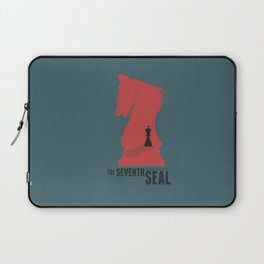 The Seventh Seal, Ingmar Bergman movie poster, swedish film, Max von Sydow Laptop Sleeve