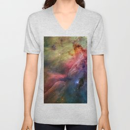 The Art of Nature - Orion Nebula Unisex V-Neck