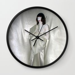 "say no to patriarchy / ""the religion"" Wall Clock"