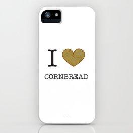 I Heart Cornbread iPhone Case