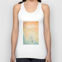 map Tank Tops featuring map by Ingrid Beddoes