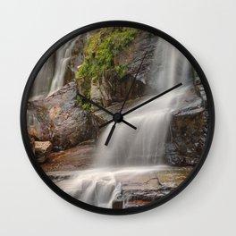 Shelving Rock Falls Wall Clock
