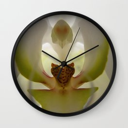 .delicate orchid. Wall Clock