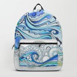 Ocean Seaweed Backpack
