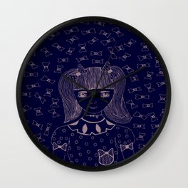 I am 'BOW'led over by you Wall Clock