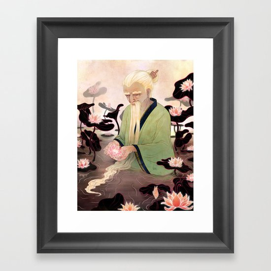 Flowers of Illusion Framed Art Print
