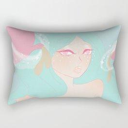 Sir tea house witch Rectangular Pillow
