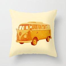 Summer Ride Throw Pillow