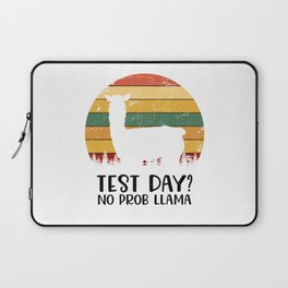 Test Day? No Prob Llama Laptop Sleeve