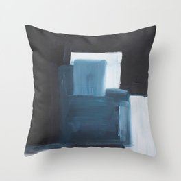 THE DEViL AND THE DEEP BLUE SEA Throw Pillow