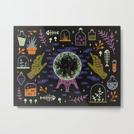 Spooky Horoscopes: Capricorn Metal Print