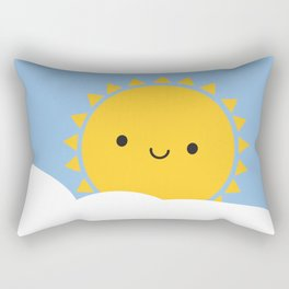 Good Morning Sunshine Rectangular Pillow